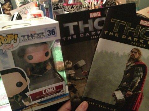 Thor: The Dark World Twitter GiveAway!