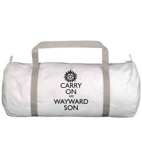 carry_on_my_wayward_son_b10_gym_bag
