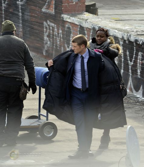Get a Look at Gotham – New Set Pics