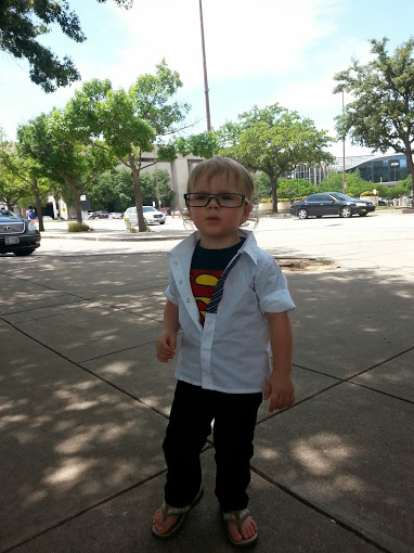 Baby Clark Kent Photo Credit: Nikki & Mary