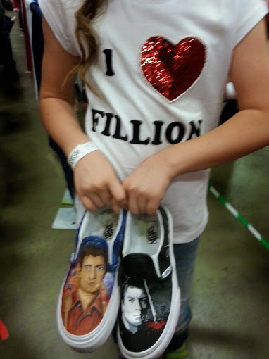 Nathan Fillion Shoes Photo Credit: Nikki & Mary