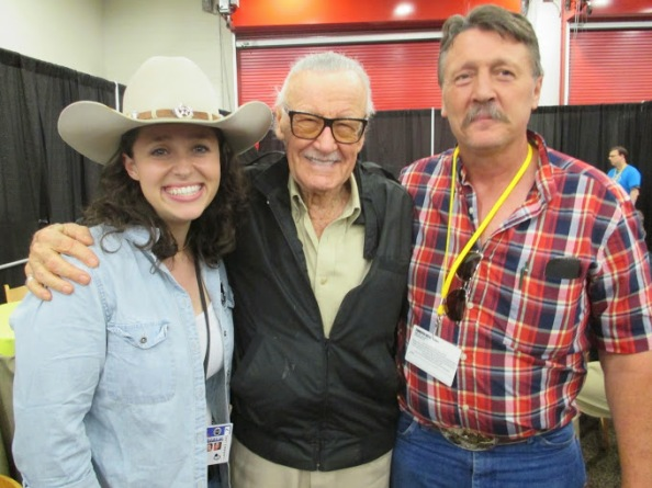 Nikki, Stan Lee & Texas Dad