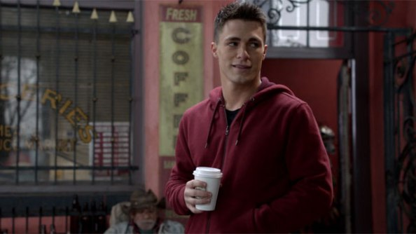 First Look: Colton Haynes as Arsenal in Arrow Season 3