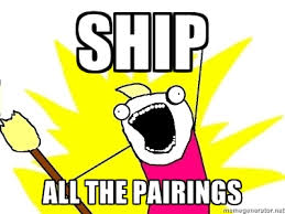 Fave Five Fridays: I Will Go Down With This Ship!