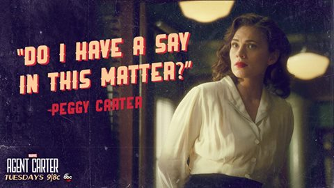 Five MORE reasons that you should be watching MARVEL's Agent Carter
