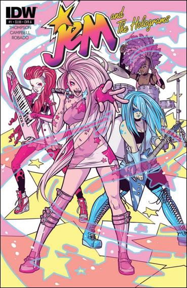 IDW's Jem & The Holograms Issue#1