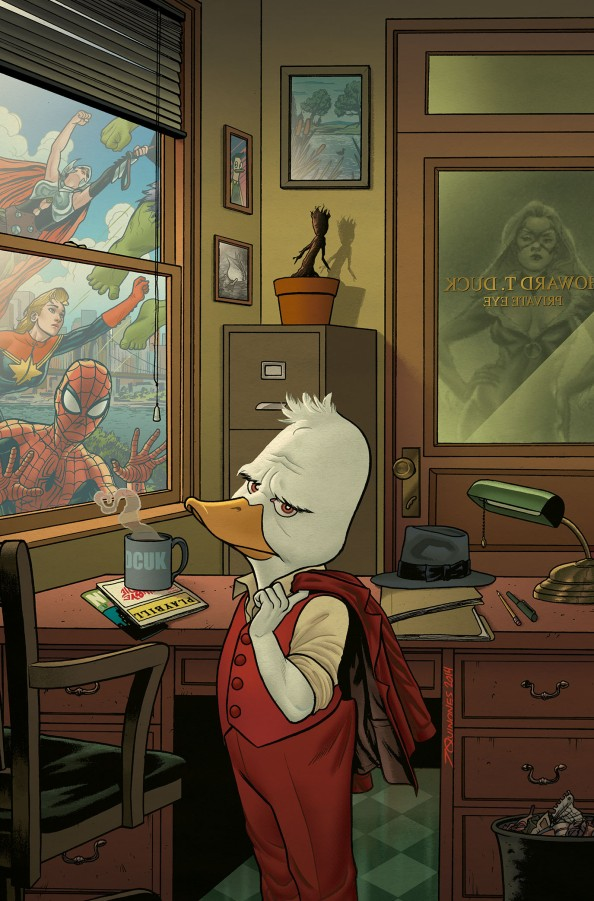 Marvel's Howard The Duck Issue #1