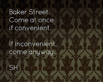 Sherlock Titans 221B Baker Street Collection