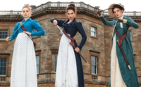 Pride and Prejudice and Zombies, in theaters February2016