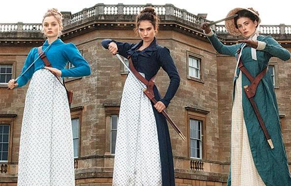 Pride and Prejudice and Zombies, in theaters February 2016