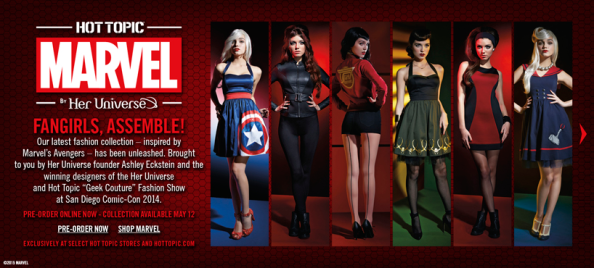 MARVEL by Her Universe: Available forpreorder!