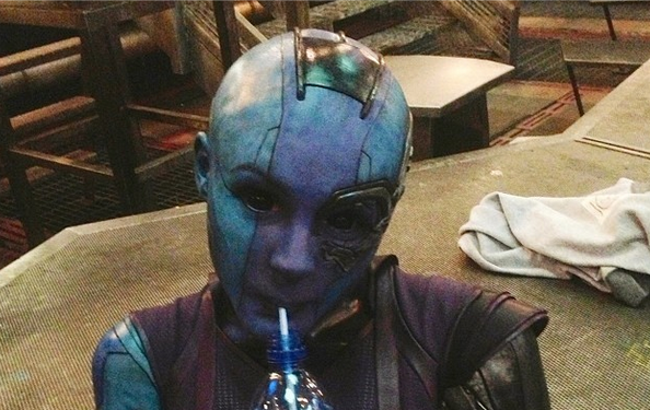 Karen Gillan returns to Guardians 2