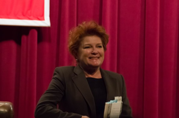 Kate Mulgrew: Commanding The Free Library of Philadelphia