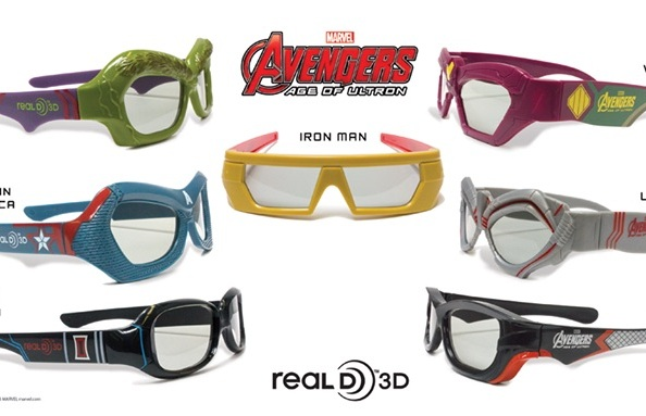 Avengers: Age of Ultron Super Special 3D Glasses