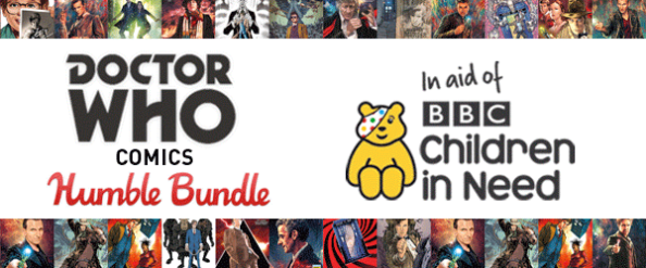 Doctor Who & Humble Bundle Team Up To Give Back