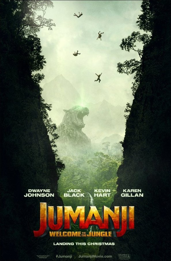 First Looks: Jumanji: Welcome to the Jungle Trailer