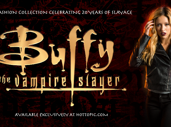 Buffy The Vampire Collection at HotTopic