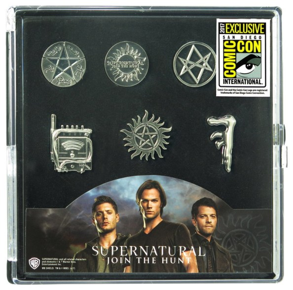 47015-Supernatural-Pewter-Pin-6pc-Set