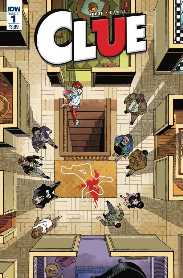 Comics Corner: Clue Issue #1